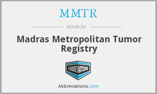 What does MMTR stand for?