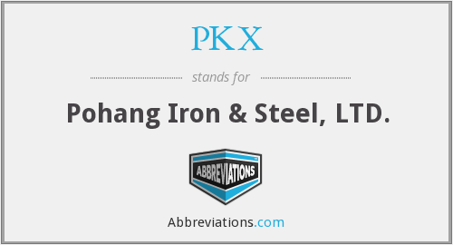 What does PKX stand for?