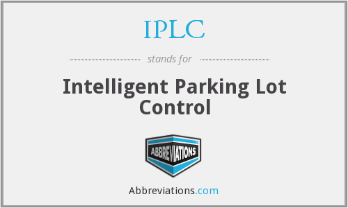 What does IPLC stand for?