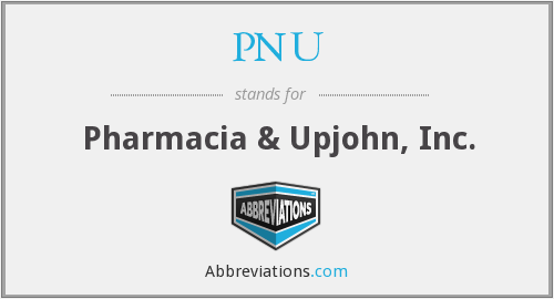 What does PNU stand for?