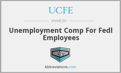 What does UCFE stand for?