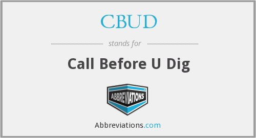 What does CBUD stand for?
