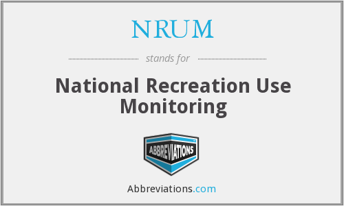 What does NRUM stand for?