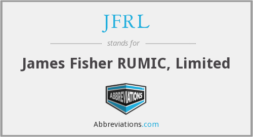 What does JFRL stand for?