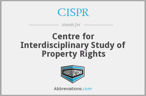 What does CISPR stand for?