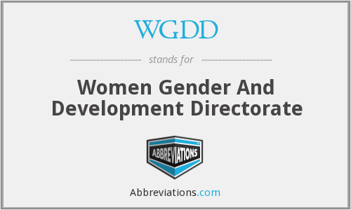 What does WGDD stand for?