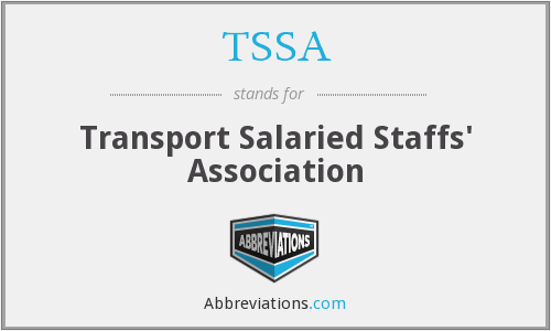 What does TSSA stand for?