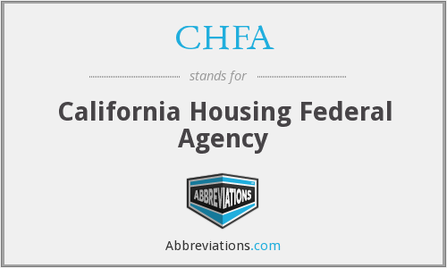 What does CHFA stand for?