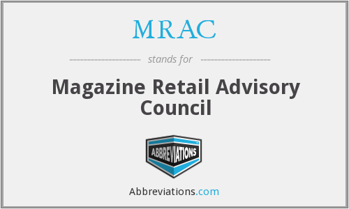 What does MRAC stand for?