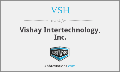 What does VSH stand for?