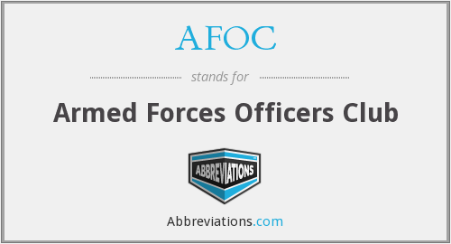 What does AFOC stand for?