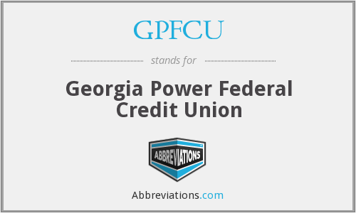 What does GPFCU stand for?