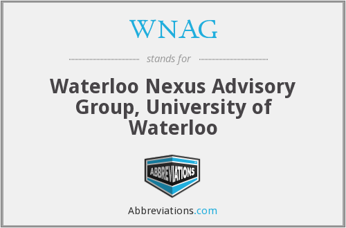 What does WNAG stand for?