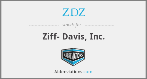 What does ZDZ stand for?