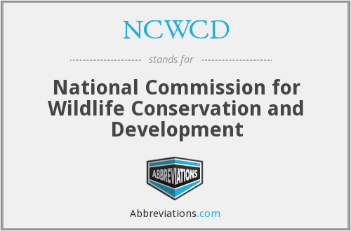 What does NCWCD stand for?