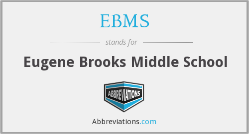 What does EBMS stand for?