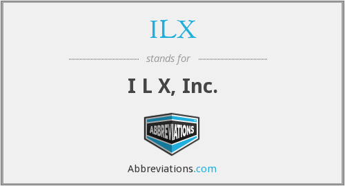 What does ILX stand for?