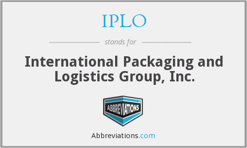 What does IPLO stand for?