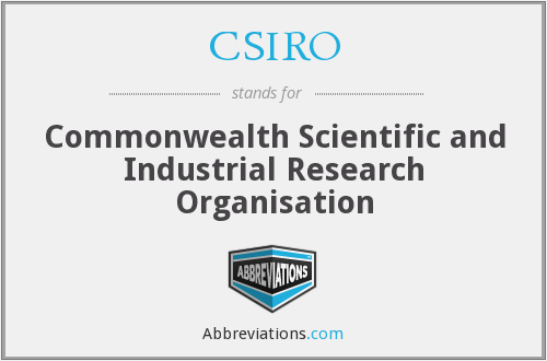 What does CSIRO stand for?