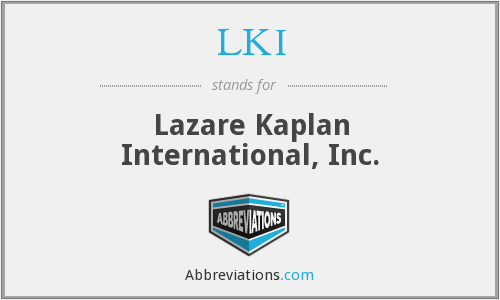 What does LKI stand for?