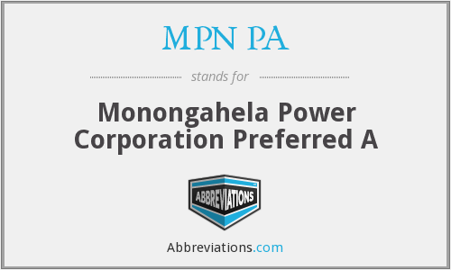 What does MPN PA stand for?