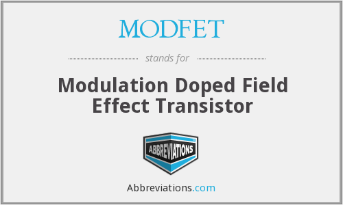 What does MODFET stand for?