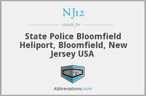 What does NJ12 stand for?