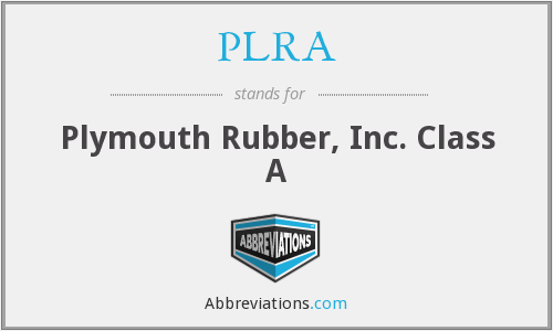 What does PLRA stand for?