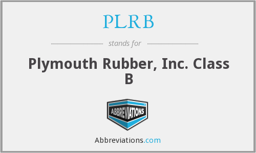 What does PLRB stand for?