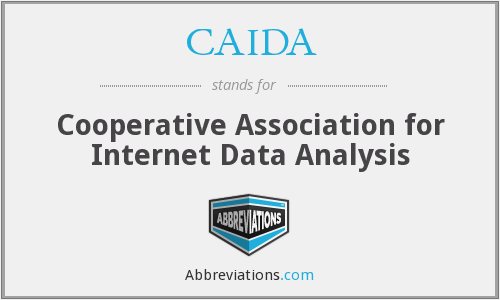 What does CAIDA stand for?