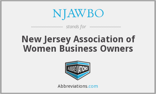 What does NJAWBO stand for?