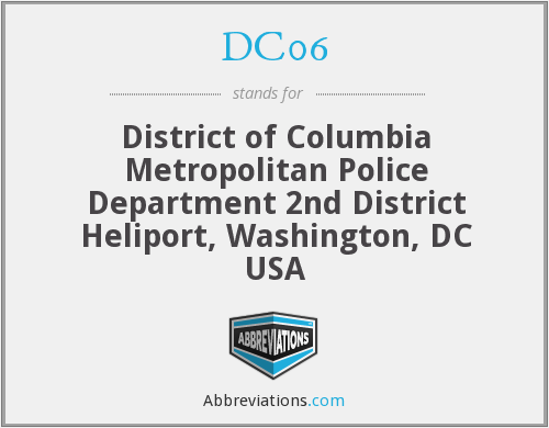 What does DC06 stand for?