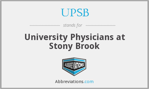 What does UPSB stand for?
