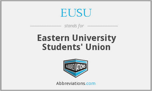 What does EUSU stand for?