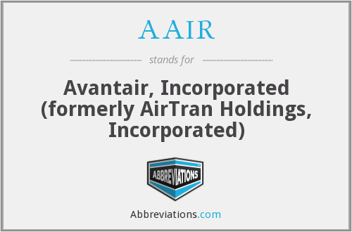 What does AAIR stand for?