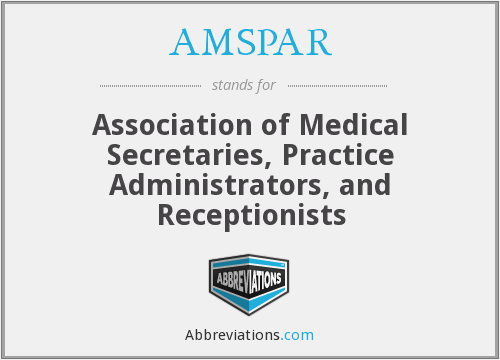 What does AMSPAR stand for?