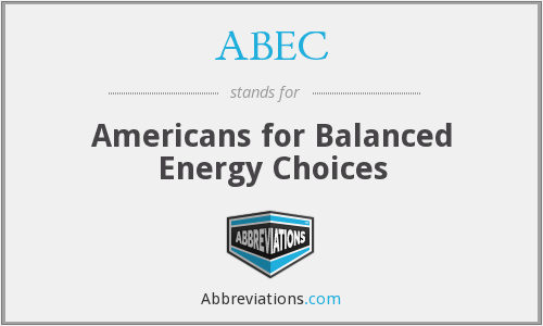 What does ABEC stand for?