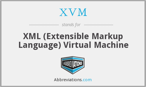 What does XVM stand for?