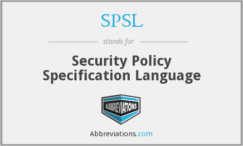 What does SPSL stand for?