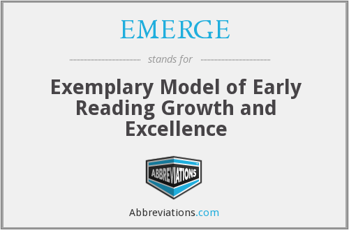 What does EMERGE stand for?