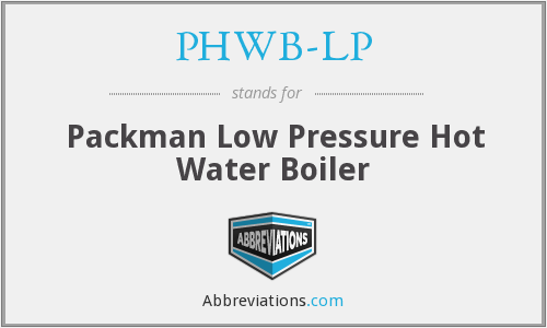 What does PHWB-LP stand for?