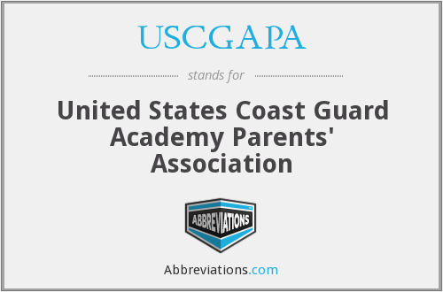 What does USCGAPA stand for?