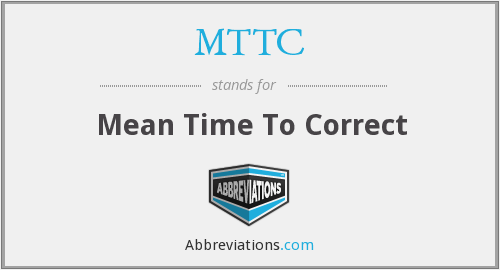 What does MTTC stand for?