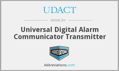 What does UDACT stand for?
