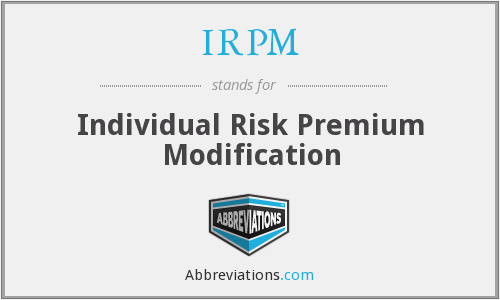 What does IRPM stand for?