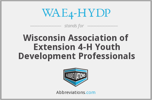 What does WAE4-HYDP stand for?