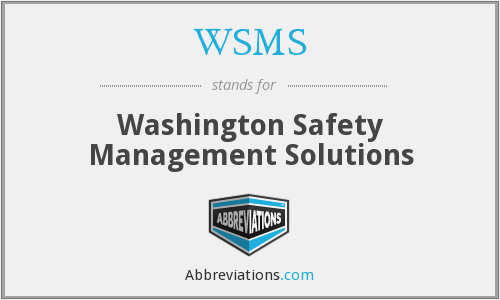 What does WSMS stand for?
