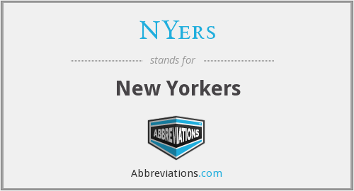 What does NYERS stand for?