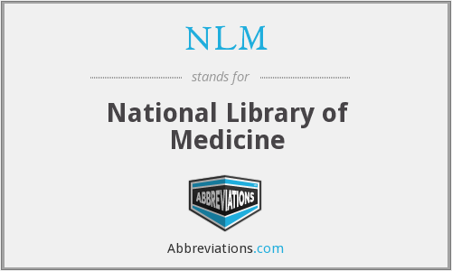 What does NLM stand for?