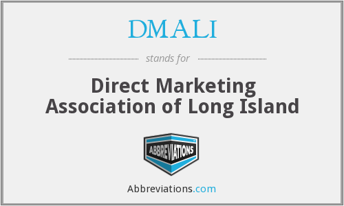 What does DMALI stand for?